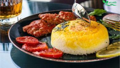 روش کته و آبکش معمول ترین روش پخت برنج در میان ایرانی ها می باشد.
