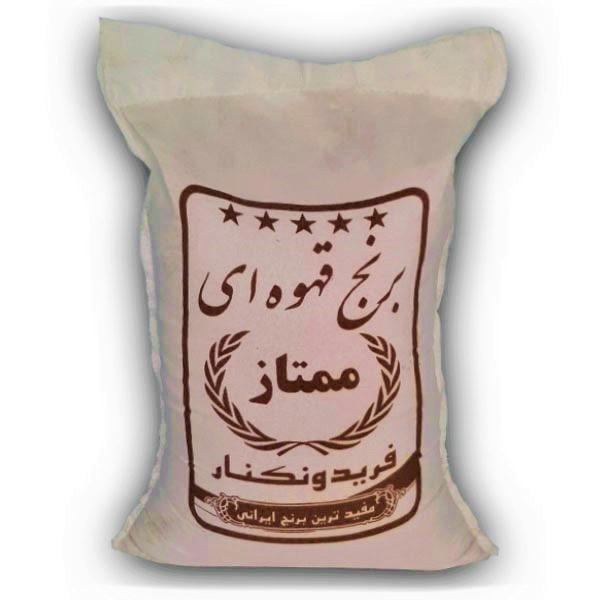 برنج قهوه ای فریدونکنار - برنج خان - 10 کیلو
