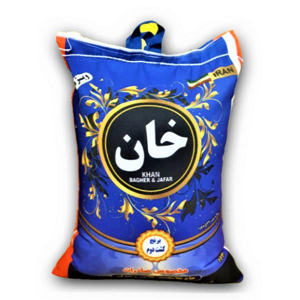 برنج کشت دوم بینام - برنج خان - 10 کیلو | کشت لند